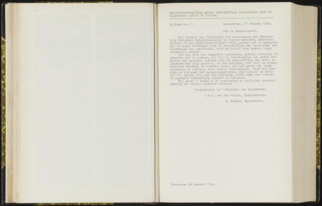 Raadsverslagen van de gemeente Leeuwarden, 1865-2007 (Bijlagen) 1954-01-01