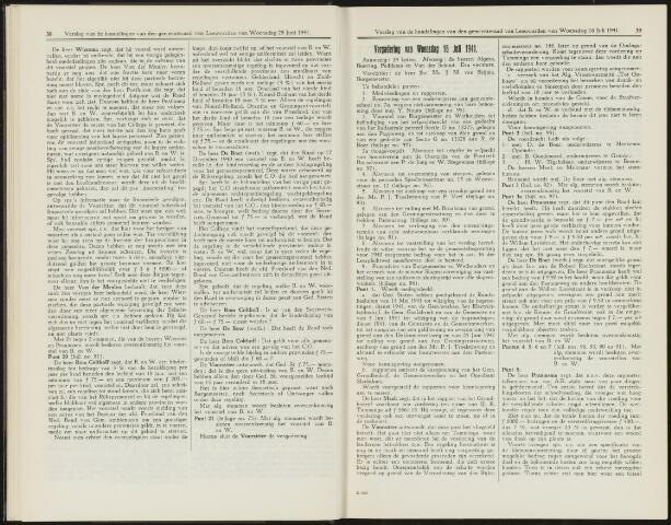 Raadsverslagen van de gemeente Leeuwarden, 1865-2007 (Notulen) 1941-07-16
