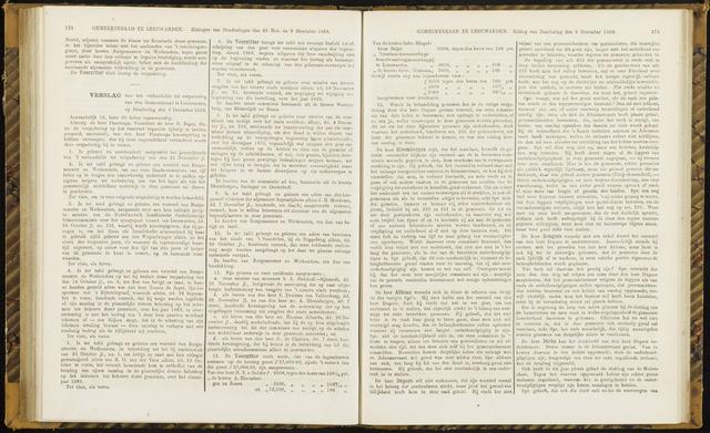 Raadsverslagen van de gemeente Leeuwarden, 1865-2007 (Notulen) 1869-12-09