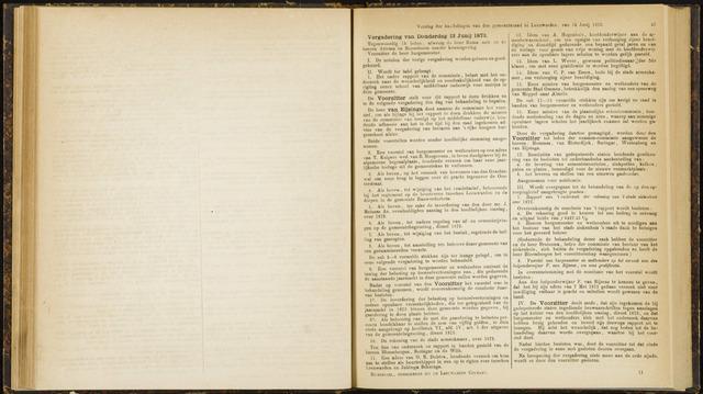 Raadsverslagen van de gemeente Leeuwarden, 1865-2007 (Notulen) 1873-06-12