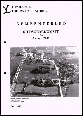 Notulen van de gemeenteraad van Leeuwarderadeel 2009-03-05