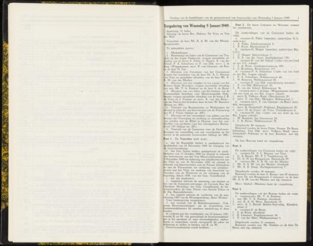 Raadsverslagen van de gemeente Leeuwarden, 1865-2007 (Notulen) 1949