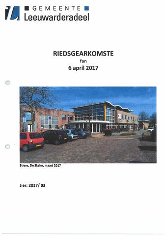 Notulen van de gemeenteraad van Leeuwarderadeel 2017-04-06