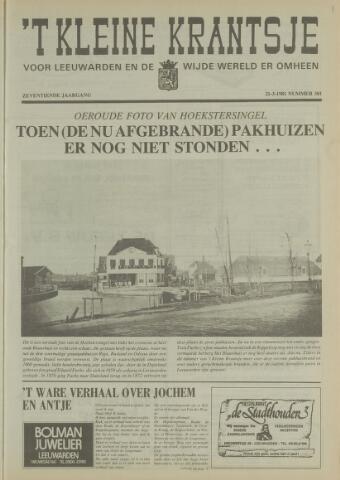 't Kleine Krantsje, 1964-1997 1981-03-21