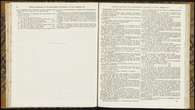 Raadsverslagen van de gemeente Leeuwarden, 1865-2007 (Notulen) 1878-08-19
