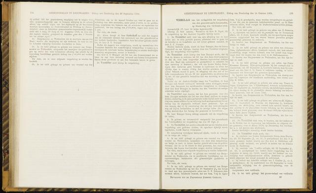 Raadsverslagen van de gemeente Leeuwarden, 1865-2007 (Notulen) 1869-10-14