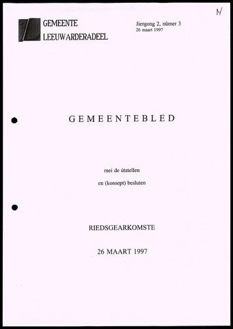 Notulen van de gemeenteraad van Leeuwarderadeel 1997-03-26