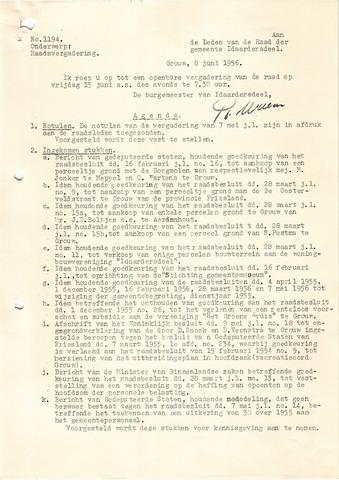 raadsverslagen Idaarderadeel 1935-1983 1956-06-15