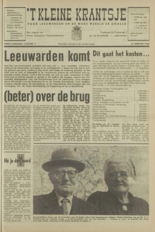 't Kleine Krantsje, 1964-1997 1965-02-24