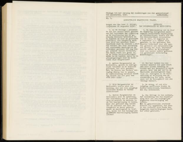 Raadsverslagen van de gemeente Leeuwarden, 1865-2007 (Schriftelijke vragen) 1936