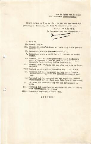 raadsverslagen Idaarderadeel 1935-1983 1949-07-28