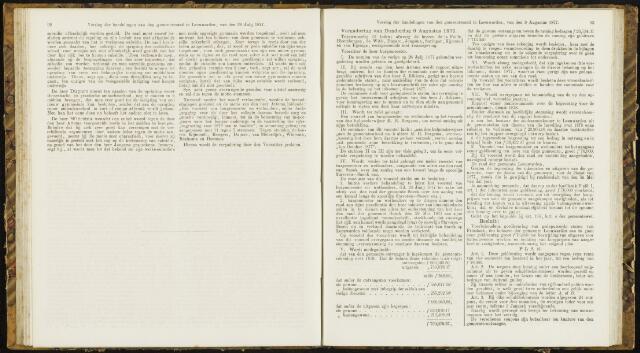 Raadsverslagen van de gemeente Leeuwarden, 1865-2007 (Notulen) 1877-08-09