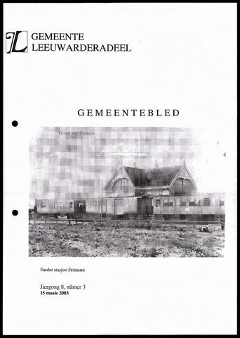 Notulen van de gemeenteraad van Leeuwarderadeel 2003-05-15
