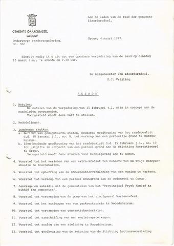 raadsverslagen Idaarderadeel 1935-1983 1977-03-15
