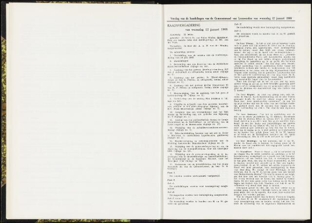Raadsverslagen van de gemeente Leeuwarden, 1865-2007 (Notulen) 1966