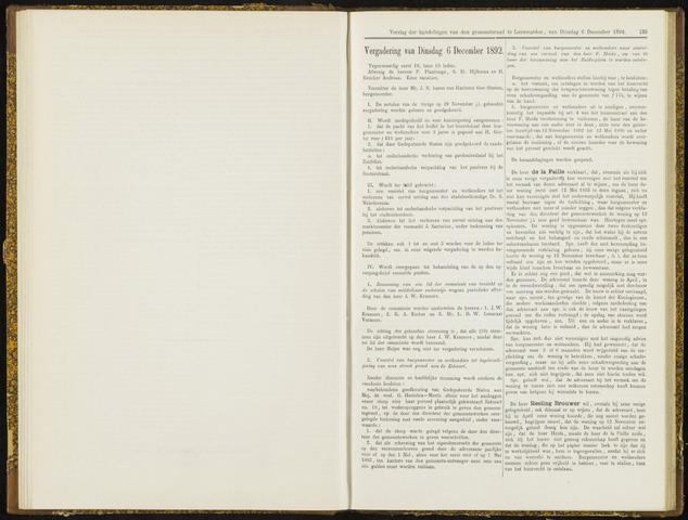 Raadsverslagen van de gemeente Leeuwarden, 1865-2007 (Notulen) 1892-12-06