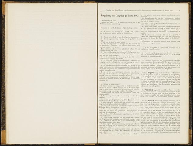 Raadsverslagen van de gemeente Leeuwarden, 1865-2007 (Notulen) 1890-03-25