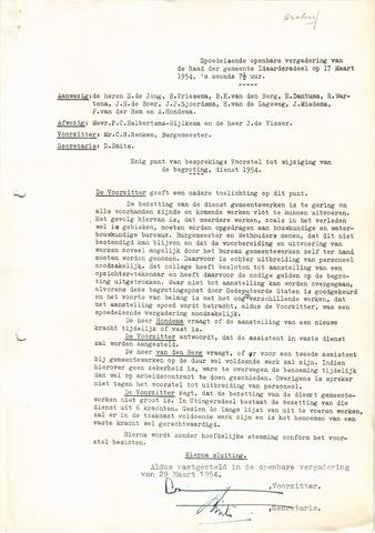 raadsverslagen Idaarderadeel 1935-1983 1954-03-17