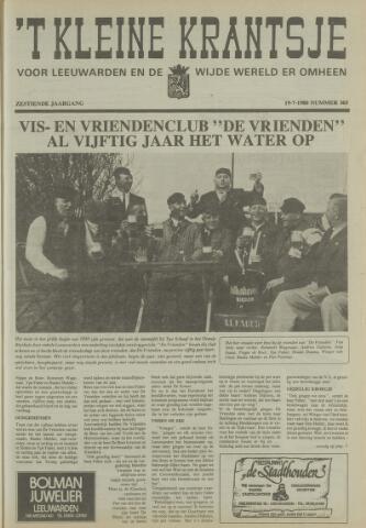 't Kleine Krantsje, 1964-1997 1980-07-19