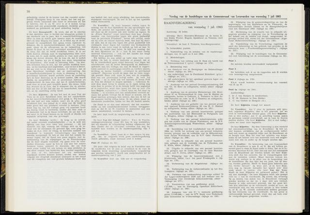 Raadsverslagen van de gemeente Leeuwarden, 1865-2007 (Notulen) 1965-07-07