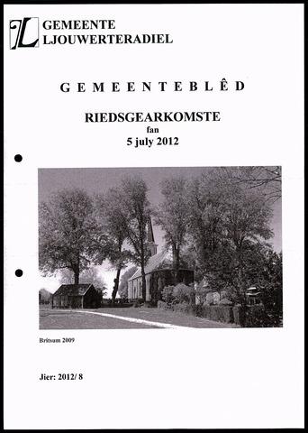 Notulen van de gemeenteraad van Leeuwarderadeel 2012-07-05