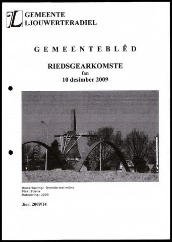 Notulen van de gemeenteraad van Leeuwarderadeel 2009-12-10