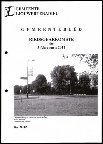 Notulen van de gemeenteraad van Leeuwarderadeel 2011-02-03