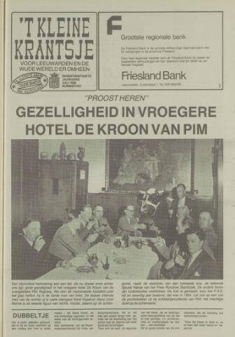 't Kleine Krantsje, 1964-1997 1990-07-01