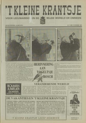't Kleine Krantsje, 1964-1997 1981-07-11