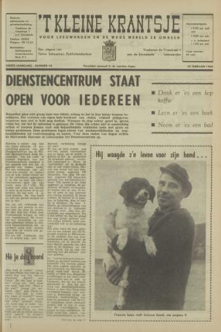 't Kleine Krantsje, 1964-1997 1965-02-10