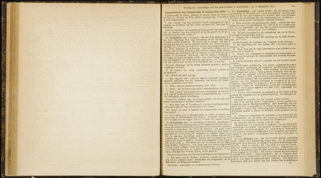 Raadsverslagen van de gemeente Leeuwarden, 1865-2007 (Notulen) 1873-09-11