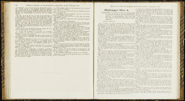 Raadsverslagen van de gemeente Leeuwarden, 1865-2007 (Bijlagen) 1877-01-01