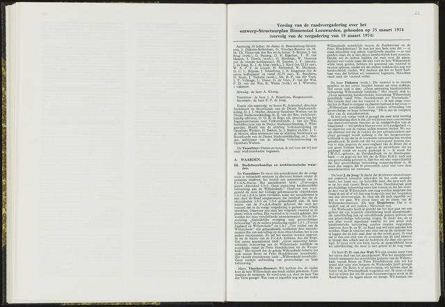 Raadsverslagen van de gemeente Leeuwarden, 1865-2007 (Notulen) 1974-03-25