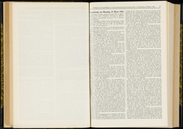 Raadsverslagen van de gemeente Leeuwarden, 1865-2007 (Notulen) 1946-03-18