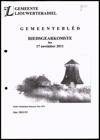 Notulen van de gemeenteraad van Leeuwarderadeel 2011-11-17