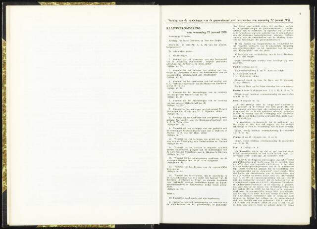 Raadsverslagen van de gemeente Leeuwarden, 1865-2007 (Notulen) 1958