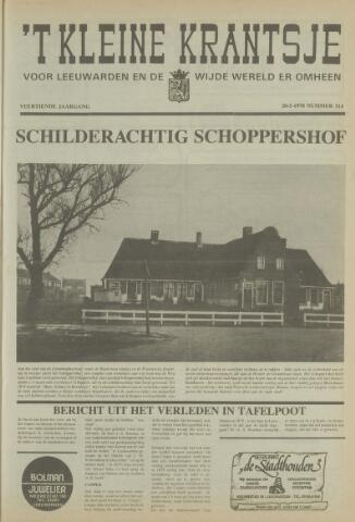 't Kleine Krantsje, 1964-1997 1978-05-20