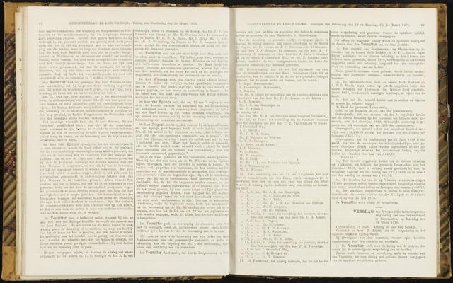 Raadsverslagen van de gemeente Leeuwarden, 1865-2007 (Notulen) 1870-03-14