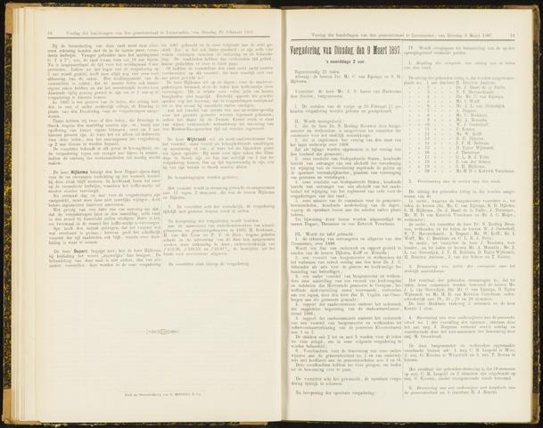 Raadsverslagen van de gemeente Leeuwarden, 1865-2007 (Notulen) 1897-03-09