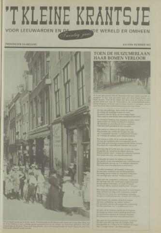 't Kleine Krantsje, 1964-1997 1984-08-04