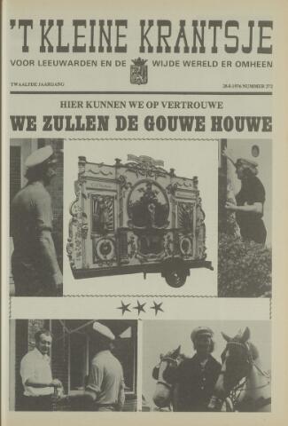 't Kleine Krantsje, 1964-1997 1976-08-28