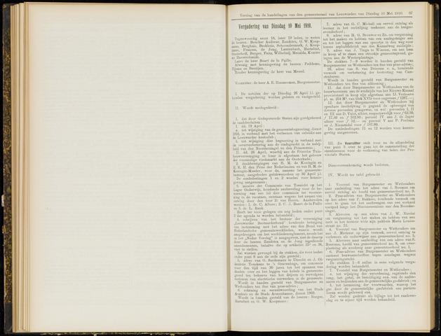 Raadsverslagen van de gemeente Leeuwarden, 1865-2007 (Notulen) 1910-05-10