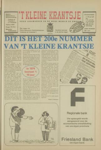 't Kleine Krantsje, 1964-1997 1973-09-22