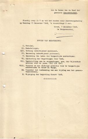 raadsverslagen Idaarderadeel 1935-1983 1948-12-13
