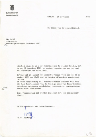 raadsverslagen Idaarderadeel 1935-1983 1983-12-20
