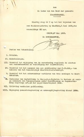 raadsverslagen Idaarderadeel 1935-1983 1935-06-03