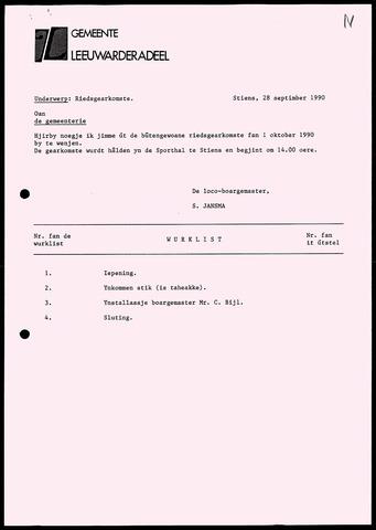 Notulen van de gemeenteraad van Leeuwarderadeel 1990-09-28