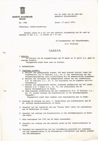 raadsverslagen Idaarderadeel 1935-1983 1976-05-11
