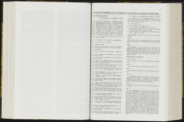 Raadsverslagen van de gemeente Leeuwarden, 1865-2007 (Notulen) 1970-11-02