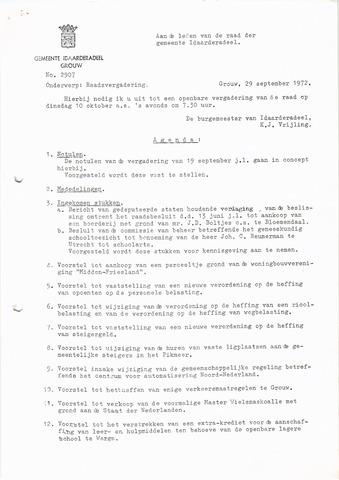 raadsverslagen Idaarderadeel 1935-1983 1972-10-10